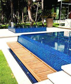 - Lightstreams All Glass Pool Tile   Peacock Blue and Aqua