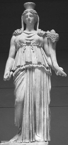 TYKHE  Museum Collection:Altes Museum, Berlin, Germany Catalogue Number:TBA Title:-- Class: Free-standing statue Material:Marble Height...