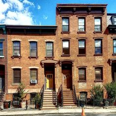 #Houses in #Williamsburg, #Brooklyn.