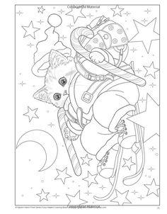 Peludo ayudantes de Santa Claus para colorear libro: Kayomi Harai: 9781497202276: Amazon.com: Libros