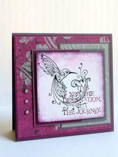 Hummingbird - Life is a journey...