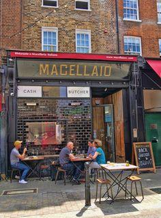 Macellaio, Italian. Exmouth Market.