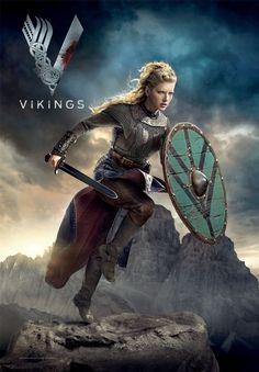 Ragnar Lothbrok, Vikings Lagertha, Floki, Vikings Tv Show, Vikings Tv Series, Viking Shield Maiden, Viking Warrior, Viking Queen, Katheryn Winnick