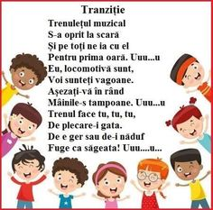 Tranzitii Kids Education, Nursery Rhymes, Kids And Parenting, Montessori, Kindergarten, Preschool, Children, Bebe, Kinder Garden