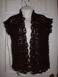 Crochet Cardigan or Vest