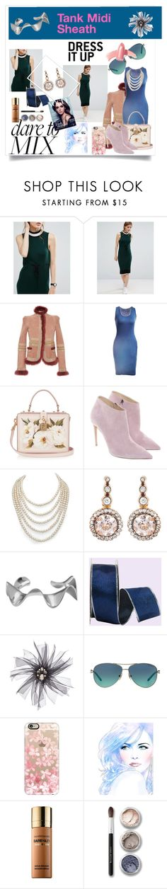 """""""Dare"""" by klm62 ❤ liked on Polyvore featuring ASOS, Roberto Cavalli, Dolce&Gabbana, Ralph Lauren, DaVonna, Selim Mouzannar, Arme De L'Amour, Natasha Accessories, Tiffany & Co. and Casetify"""