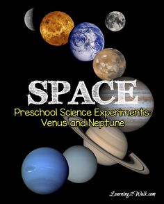 Is your preschooler learning about outer space? Why not throw in a science experiment? Here is an easy science experiment using Venus and Neptune to learn about hot and cold