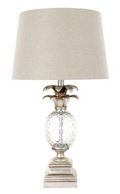 Glass Pineapple Lamp
