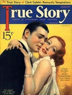 Clark Gable & Joan Crawford mag cover.  Happy to say I have this one in my collection.