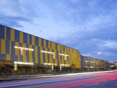 perforated corrugated metal   Camino Nuevo High School / Daly Genik Architects