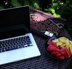 A chilled work life in the tropics.