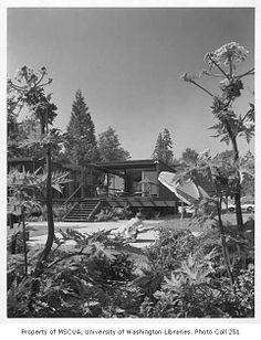 Buckley residence, Medina, 1957. Kirk, Wallace, McKinley Associates architects