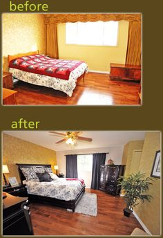 Love before and after pictures.  See how staging can make a difference.  www.HomeSaleMalta.com #realestate #property #malta