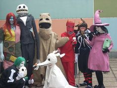 yeah that´s our nightmare before christmas / kingdom hearts cosplay group ^^ and i´ve made (with the help of meretseger and Lary) a jack skellington puppet and somehow he got on more photos than th...