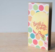 Vive, Crea, Scrapea: Tarjetas de cumpleaños (i)