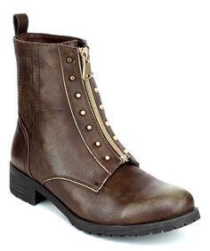 Another great find on #zulily! Brown Zip Imax Boot #zulilyfinds