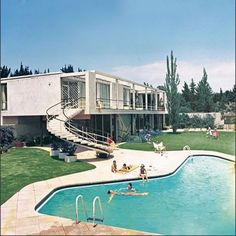 There's nothing like relaxing by a pool... #vintage  #homedesign #lifestyle #style #designporn #interiors #decorating #interiordesign #interiordecor #architecture #landscapedesign