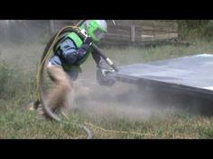 Sandblasting Powder Coated Truck Bed Coffey's Sandblasting