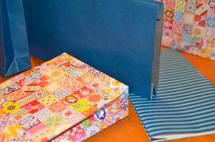 #DIY #Geschenktüten aus Papier  #Bastelanleitung