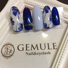 #Nail&eyeEyelashGEMULE #ネイルブック