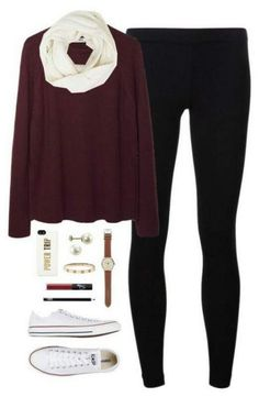 Cute outfits with leggings and converse Legging Outfits, Cute Outfits With Leggings, Outfits With Converse, Fall Winter Outfits, Winter Fashion, Summer Outfits, Casual Outfits, Fashion Night, Fashion Spring