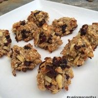 cranberry banana breakfast cookies (+ Skoop protein)