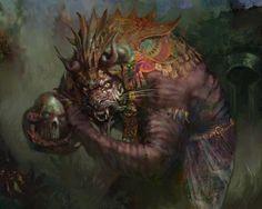 Rakshasa Vizier art by Nils Hamm