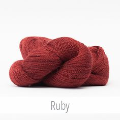The Fibre Company Road to China Lace in Ruby.