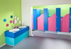 Brecon - Junior School Toilets by Cubicle Centre Ltd, via Flickr