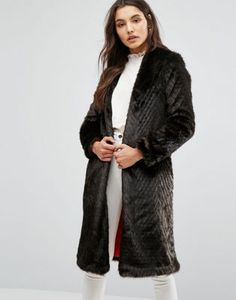 Helene Berman Limited Edition Suki Collarless Duster Coat $203