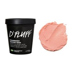 D'Fluff Shaving Soap: When you've had enough of the rough stuff, there's D'Fluff! This fluffy, sweet shaving soap will have you dreaming of Strawberry Fluff sandwiches while you shave.