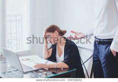 Стоковая фотография «стресс на работе, эмоциональное давление, сердитый» (редактировать), 530738152 Boss, Stress, Selfie, Image, Psychological Stress, Selfies