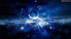 Hd Space Wallpapers Blue Galaxy Wallpaper Iphone 6 Photo