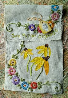 Vivika DeNegre Art Quilts: Prayer Flag Project Day 9: Organic
