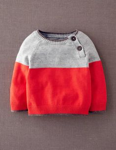 Essential Colourblock Jumper 71286 Knitwear at Boden