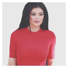"@kylietwentyfour7 on Instagram: ""UHMMM BTW GUYS, thank u so much for 15k, love u guys!! ❤️ | @KylieJenner #KylieJenner #Kylie #Jenner #Kylizzle #Red #Hot #K247"""