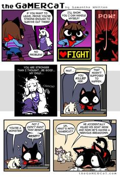 the GaMERCaT :: Mother May I | Tapastic Comics - image 2
