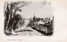 An poster sized print, approx (other products available) - South Africa - Church Street, Wynberg Date: circa 1901 - Image supplied by Mary Evans Prints Online - Poster printed in the USA Artwork Prints, Fine Art Prints, Poster Prints, Canvas Prints, Online Images, Photographic Prints, Wonderful Images, Photo Mugs, Prints Online