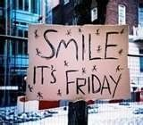 I am so glad it's Friday!  Have a great day