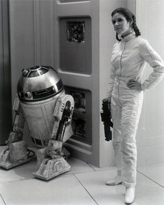 Carrie Fisher & R2D2