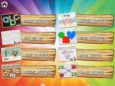Afrikaanse apps vir kleuters Infant Activities, Fun Activities, Arno, Afrikaans, Pre School, Worksheets, Printables, Babies, Teaching