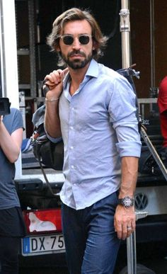 Andrea Pirlo. THIS is a sexy man. Indeed. Oh yeah, and a great player as well.