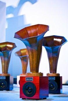 SONIC ARBORETUM – GUGGENHEIM NYC 2010 Specimen Products #hornspeakers #audio #music #andrewbird #chicago #sculpture