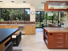 Modern design in this luxury home