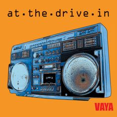 """#AtTheDriveIn """"Vaya"""" Vinyl - 500 limited edition yellow copies will be available both weekends at #Coachella via Zia Records' pop up store."""