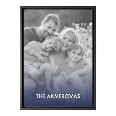 Color Overlay Canvas Print, Black, Single piece, 10 x 14 inches, Blue