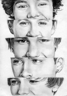 1 Direction Drawing