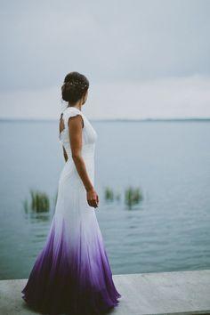 añadele tu color favorito a tu vestido de novia
