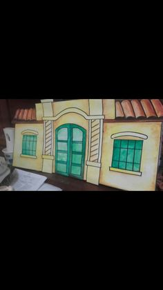 La casita de Tucumán, acuarelas... 👏 👏 👏 Ideas Para, Education, Water Colors, Paintings, Special Education, Art School, Onderwijs, Learning