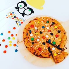 Torta cookie con smarties